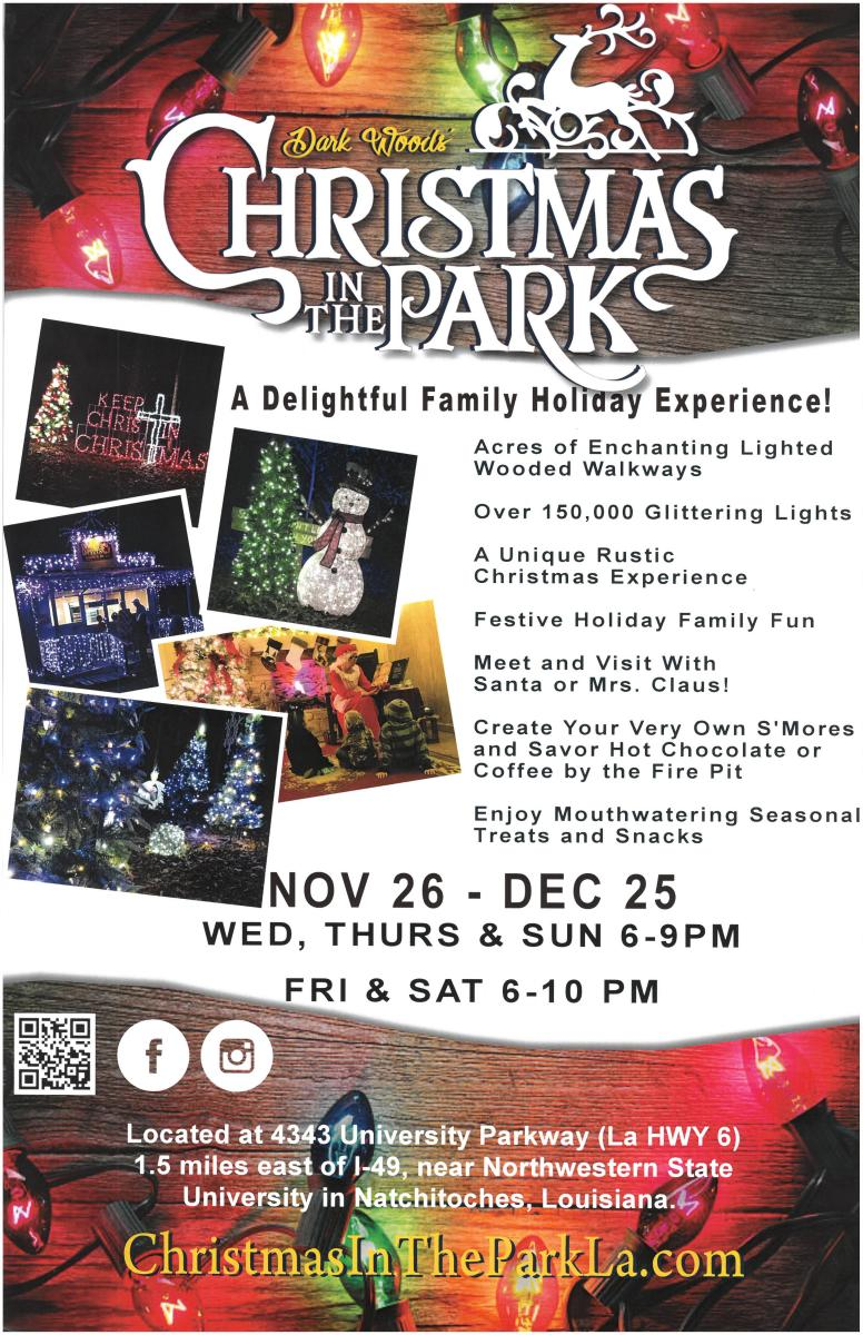 christmas in the park is open in december on - When Does Christmas In The Park Open
