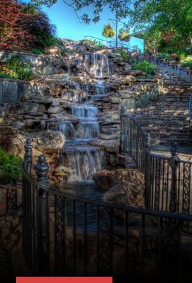 Beau Jardin Water Feature & Garden