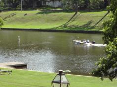 Boating on Cane River Lake