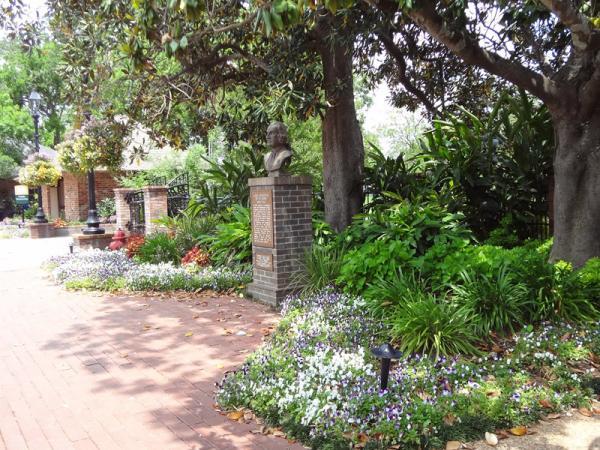 Beau jardin entrance official natchitoches travel for Beau jardin